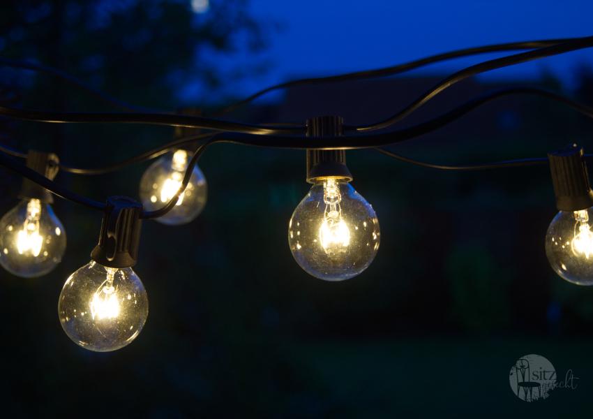 Vintage Lichterkette 25 Glühbirnen - 7,5 Meter