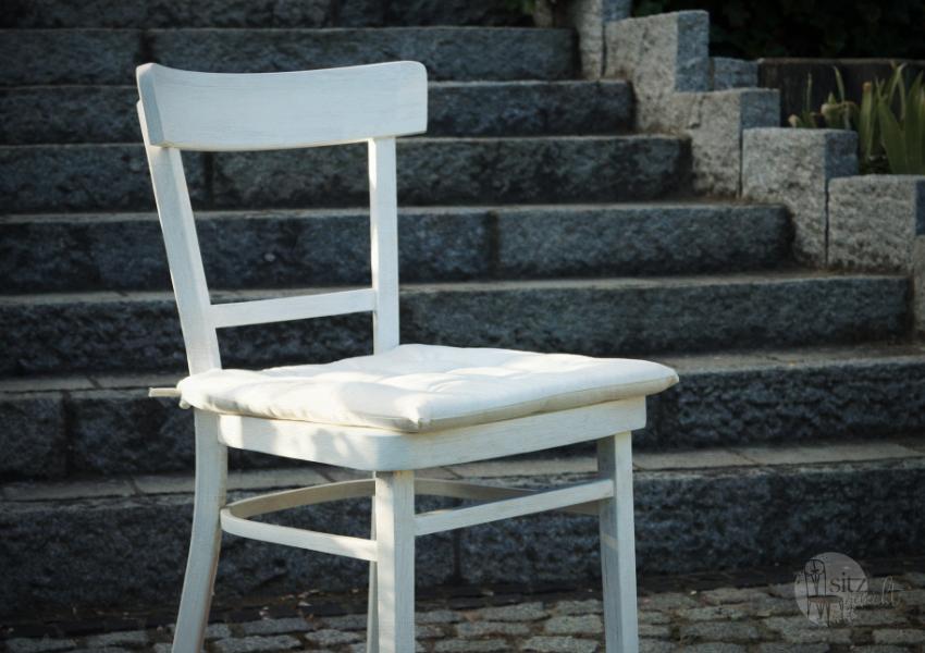 Sitzkissen weiß