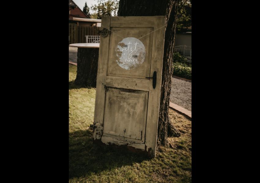 Antike Tür
