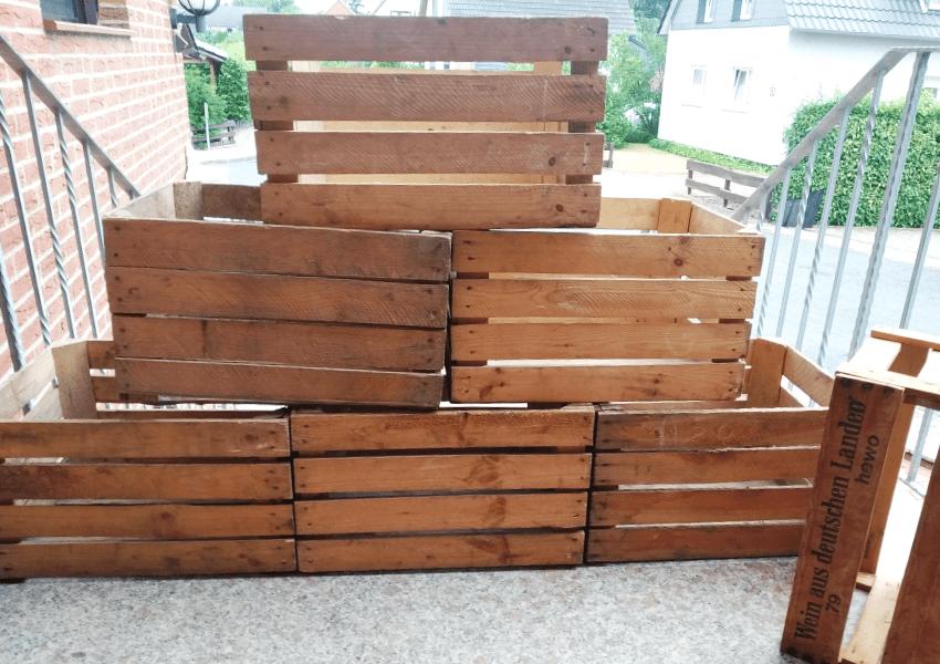 Obstkisten / Holzkisten